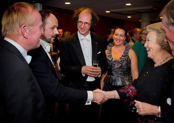 Marc Pantus/Jos Vermunt/Koningin Beatrix